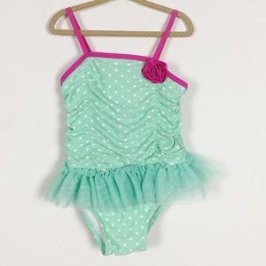 Circo Teal Swim Suit sz 4T